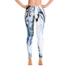 Spring Melodies Tropical Leggings Front