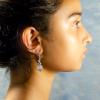 Rose quartz Earrings Sample 1