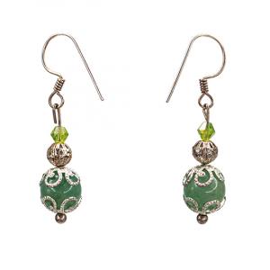 Green aventurin Earrings
