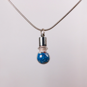 Oddments Sapphire Necklace Front